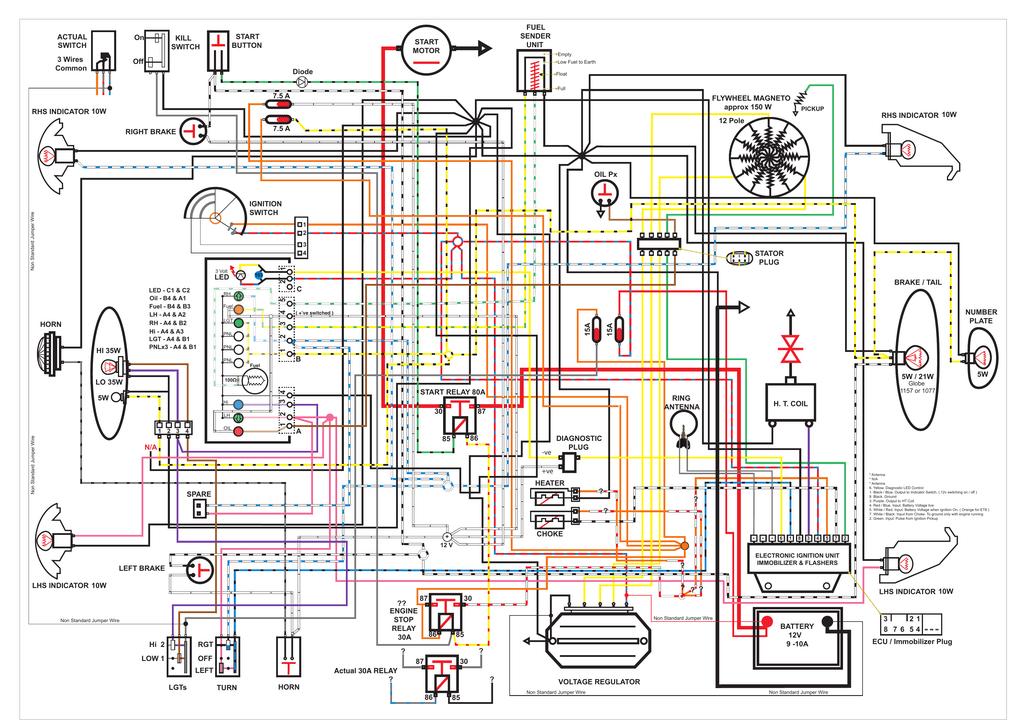 Wiring Diagram Vespa Et4 - Catalogue of Schemas on