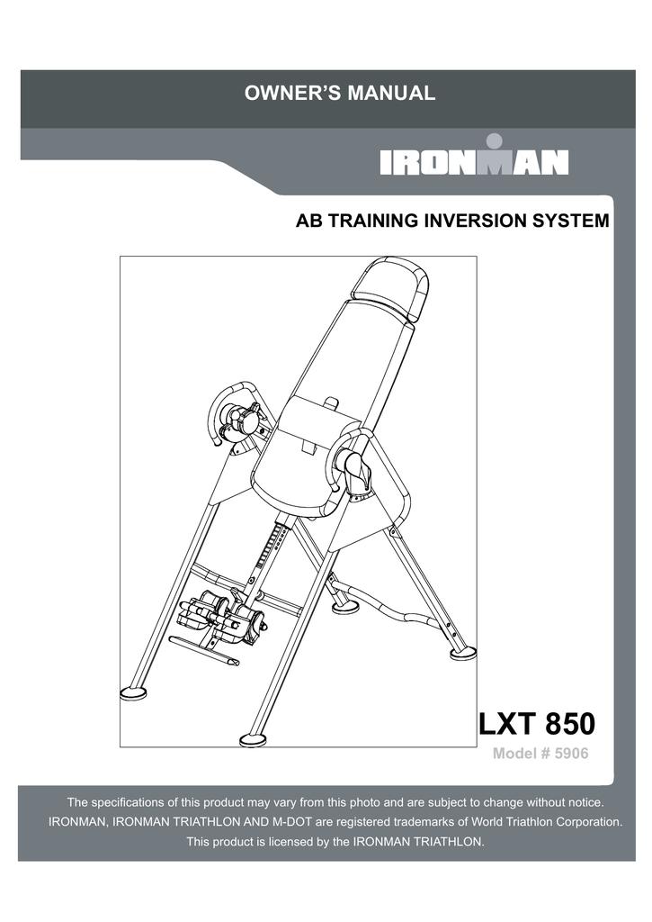 Pleasant Ironman Lxt 850 Inversion Table Owner S Manual Manualzz Com Download Free Architecture Designs Osuribritishbridgeorg