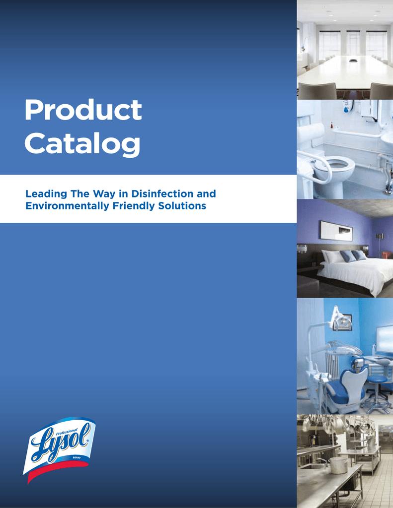 Product Catalog - Reckitt Professional | manualzz.com