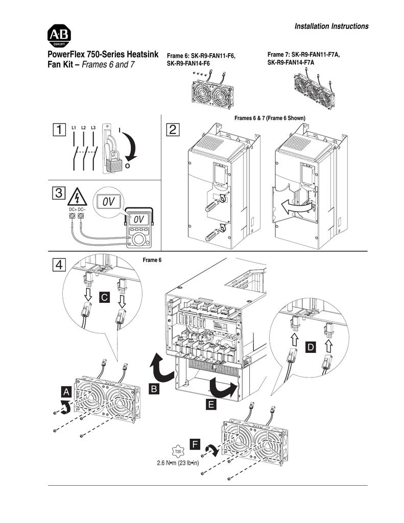 Installation Instructions, PowerFlex 750 | manualzz com