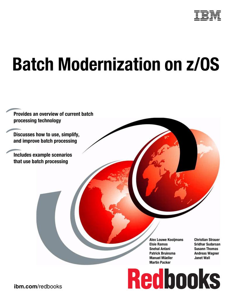 Batch Modernization on z/OS | manualzz com