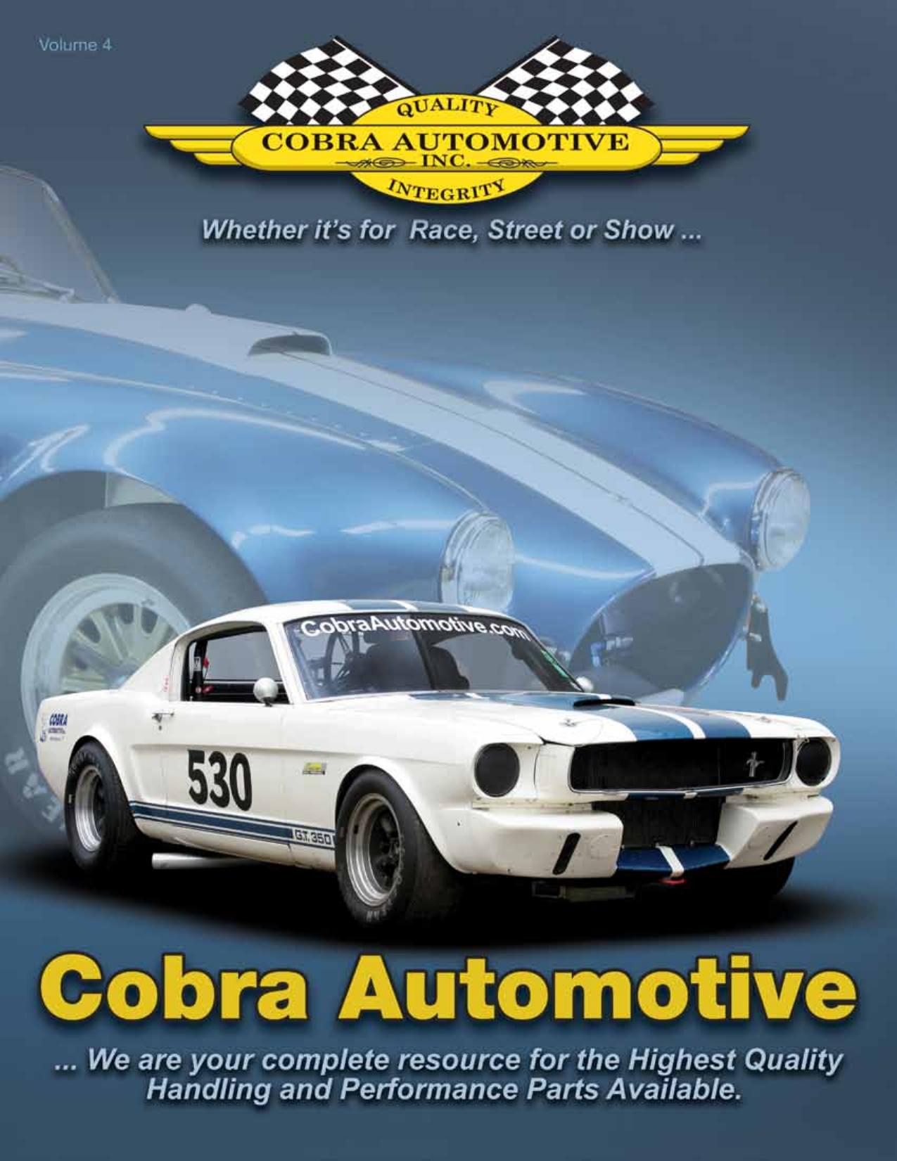 Catalog - Cobra Automotive | manualzz com
