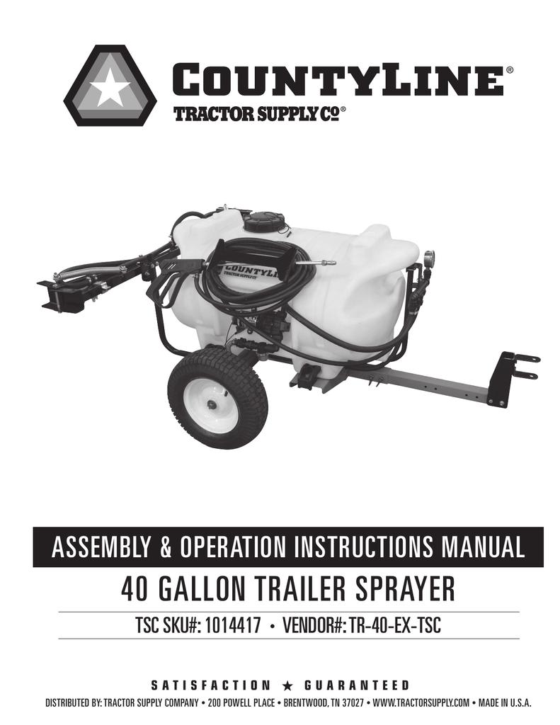 [WQZT_9871]  CountyLine 5302118 Manual   Manualzz   7 Pin Wiring Diagram Tractor Supply      manualzz