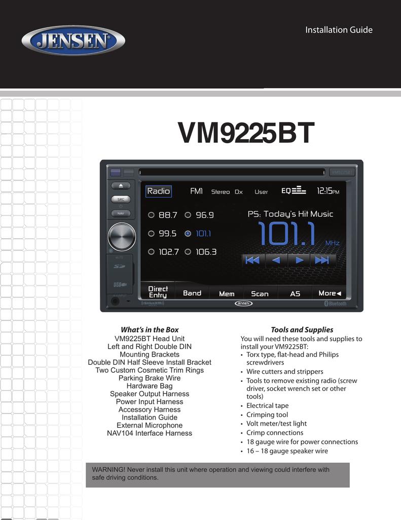Accel 74022 Ecm Wire Diagram Trusted Wiring Diagrams Jensen Vm9125 Library Of U2022