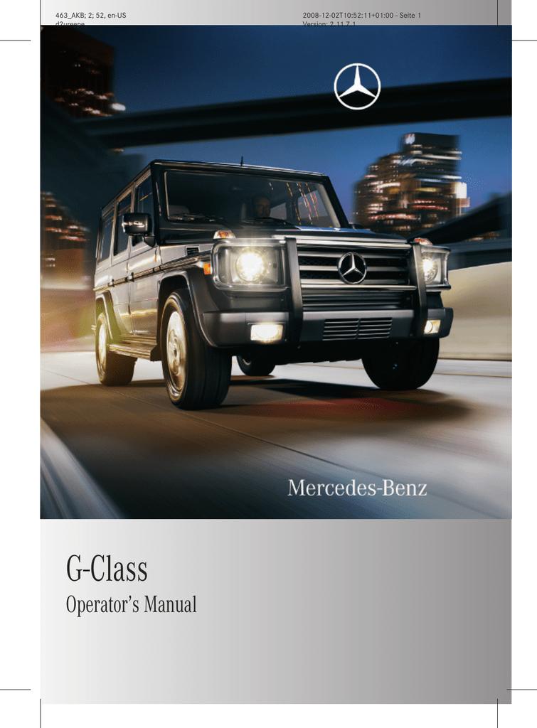 G-Class - Mercedes