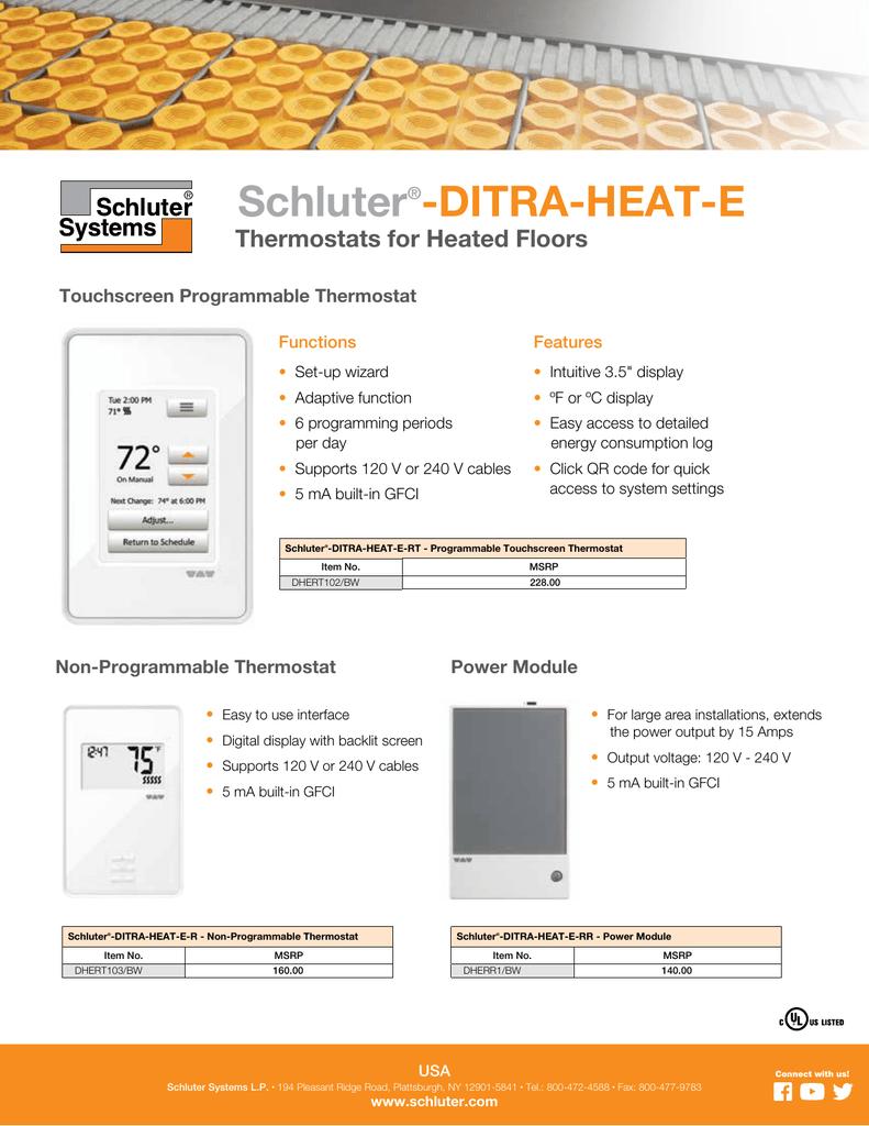 Schluter Thermostat Wiring Diagram from s3.manualzz.com