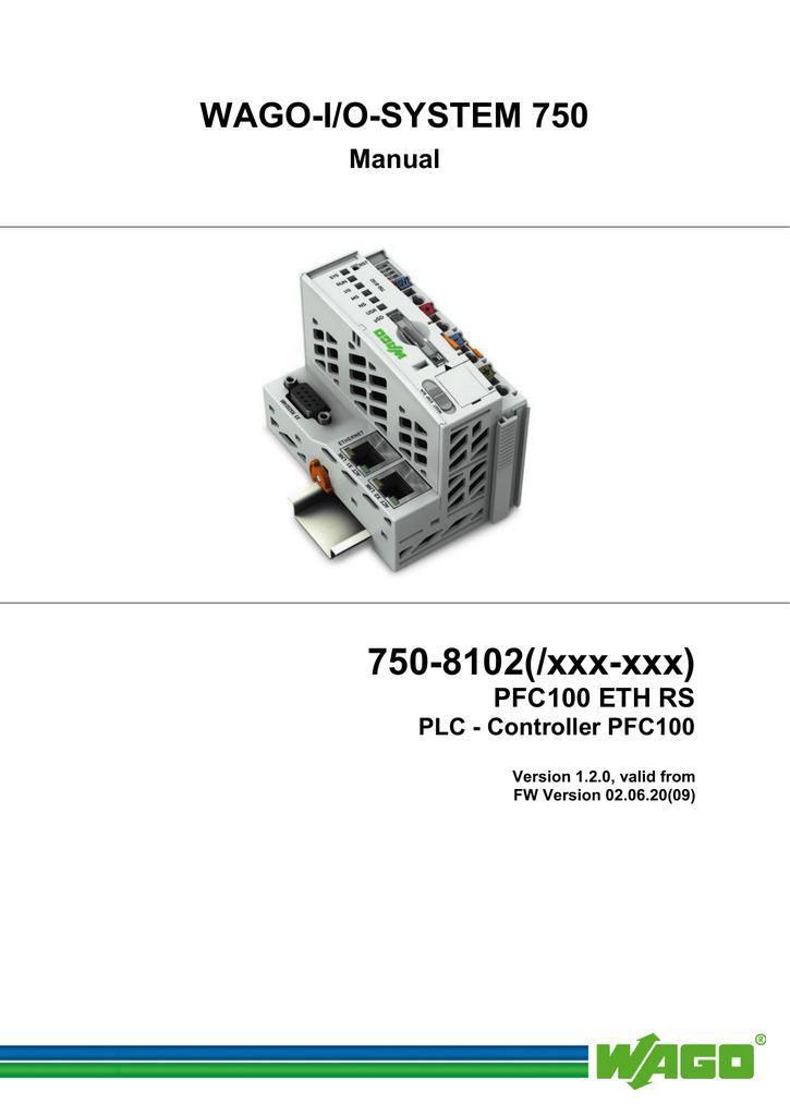Manual 750-8102 | manualzz com
