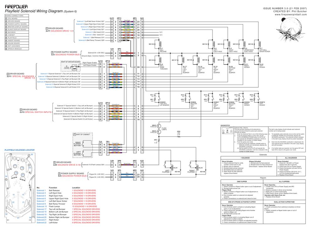 wiring diagram - firepower pinball   manualzz  manualzz
