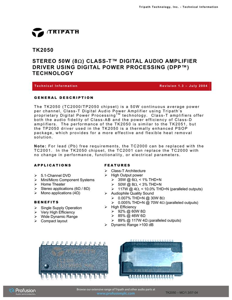 tk2050 - Profusion plc | manualzz com