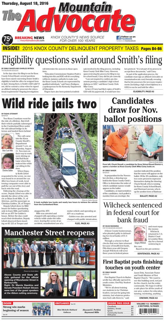 Wild Ride Jails Two The Mountain Advocate Manualzzcom