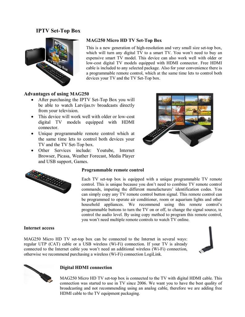 IPTV Set-Top Box | manualzz com