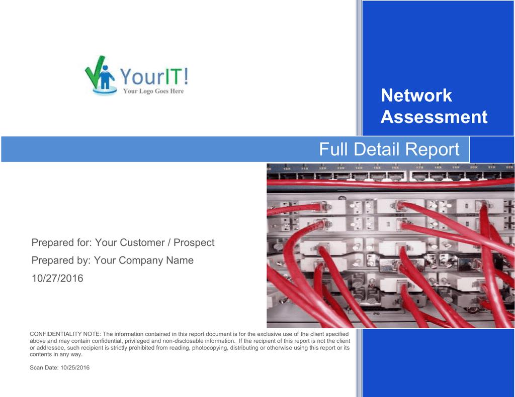 Network Assessment Full Detail Report | manualzz com