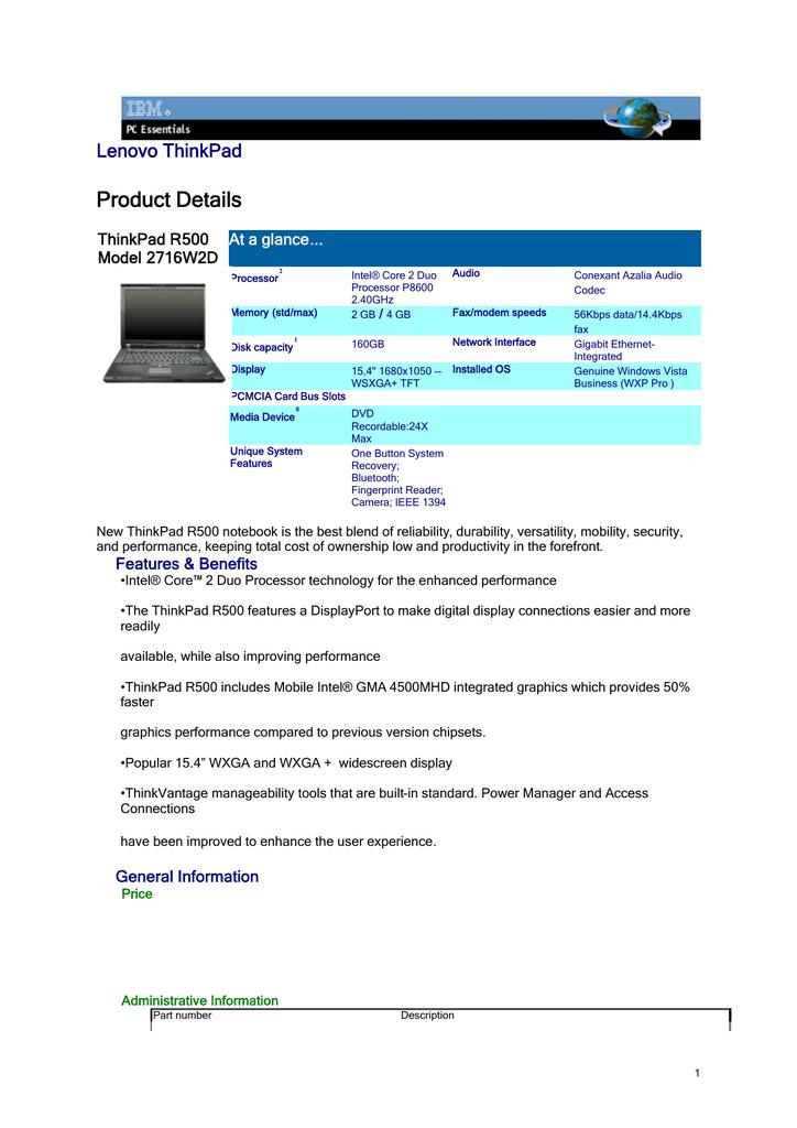 LENOVO THINKPAD X301 CONEXANT AUDIO WINDOWS XP DRIVER