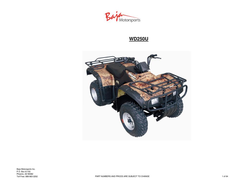 BA90-285 Gasket Inlet Tube 90cc Baja BA90 ATV