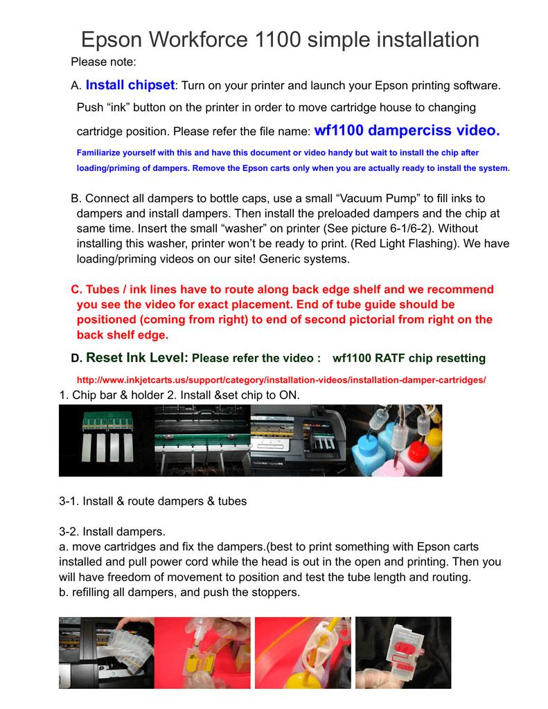 Epsons Ink Level Back – Icalliance