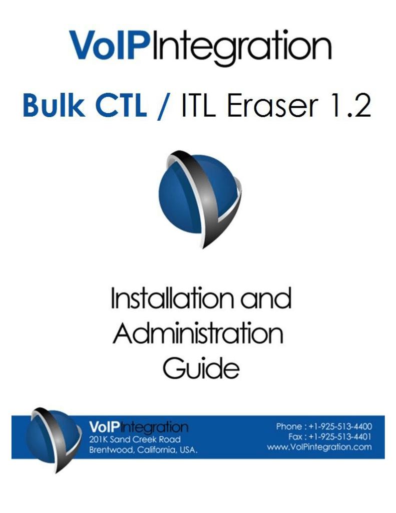 Bulk CTL / ITL Eraser | manualzz com