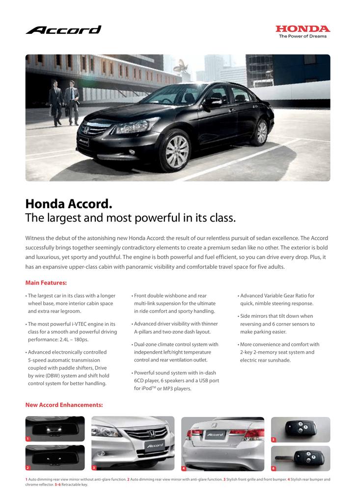Honda Accord  | manualzz com