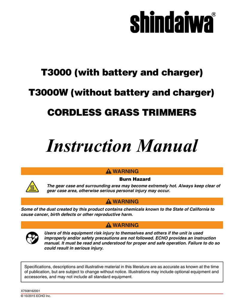 Instruction Manual Manualzz