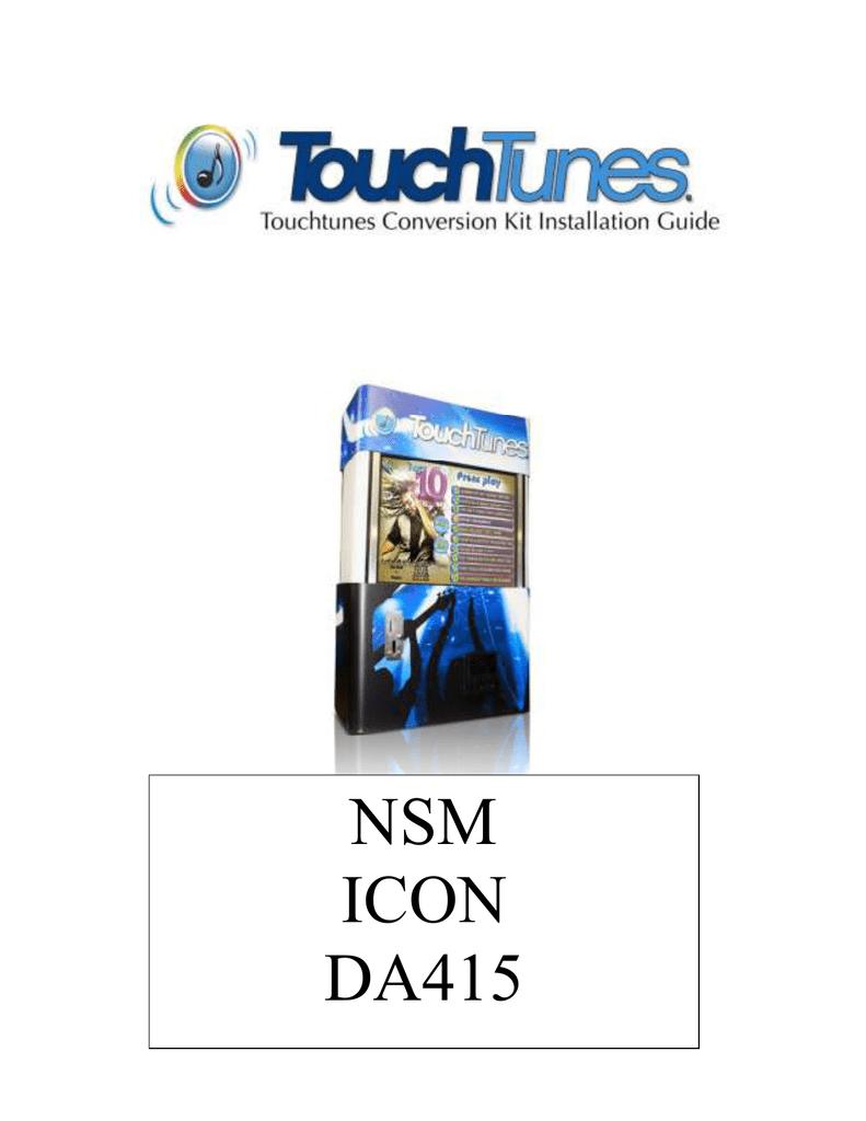 NSM ICON DA415 | manualzz com
