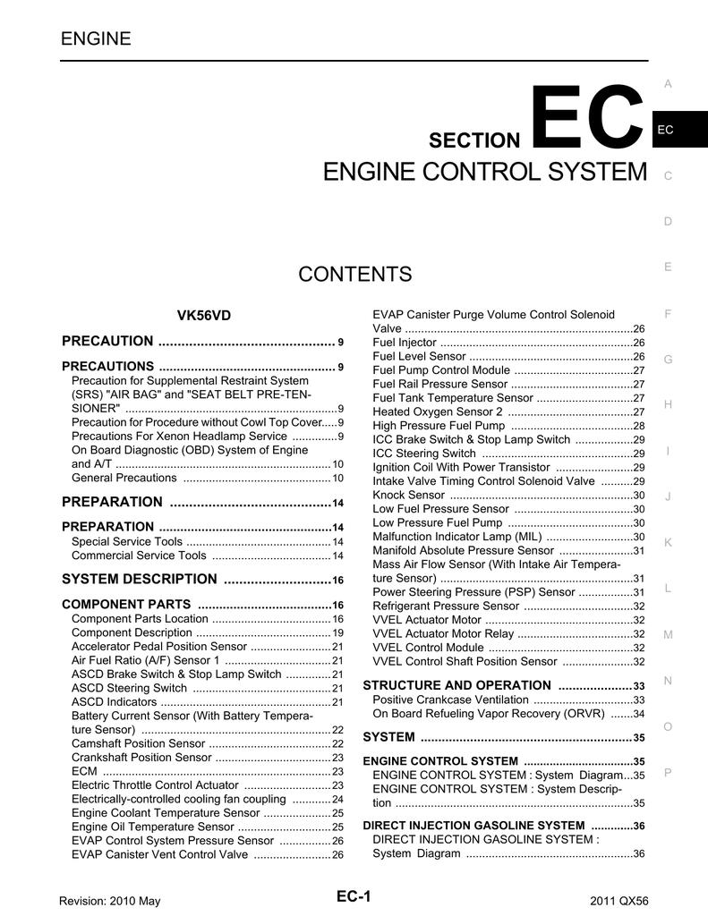 ENGINE CONTROL SYSTEM | manualzz com