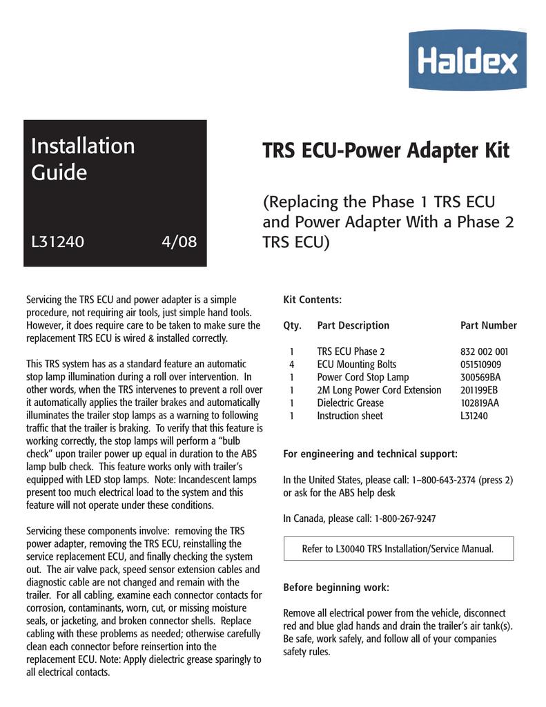 L30041 Haldex Abs Wiring Diagram. . Wiring Diagram on