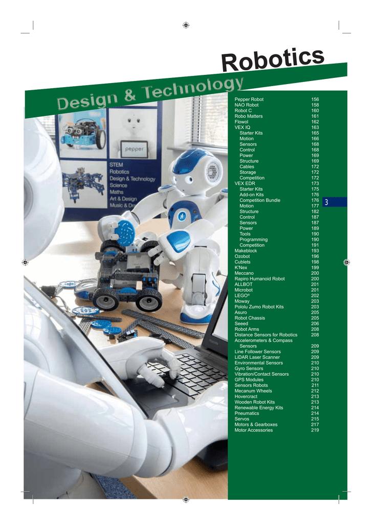 Robotics - Rapid Electronics