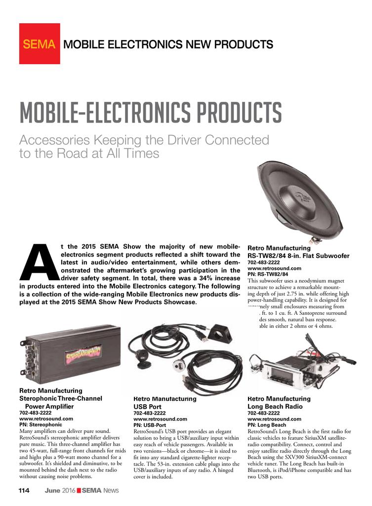 Mobile-Electronics Products | manualzz com