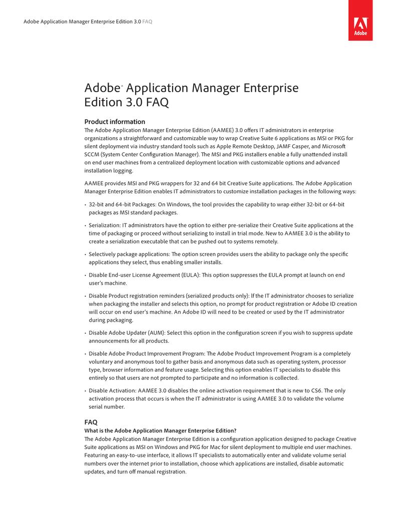 Enterprise Deployment FAQ | manualzz com