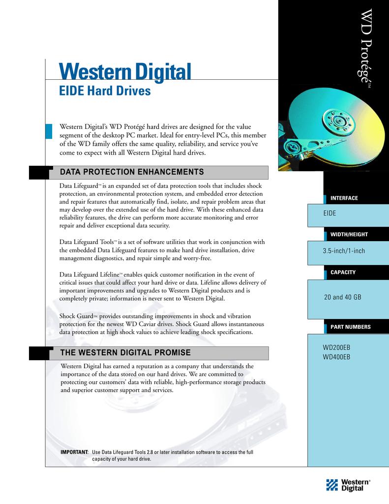 Western Digital`s WD Protégé Hard Drives | manualzz com
