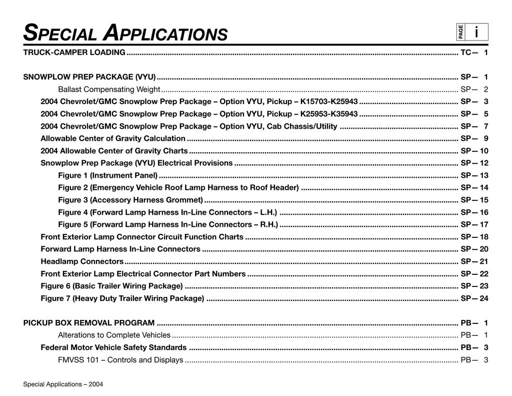 Special Applications I 4 3 L35 Vortec Wiring Diagram