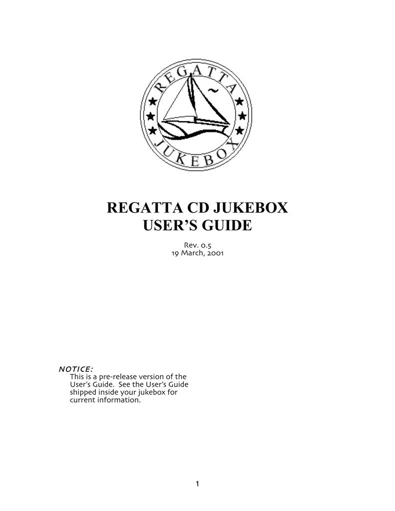 regatta cd jukebox user`s guide | manualzz com