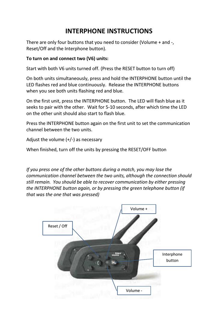 V6 1200 Instructions Manualzz