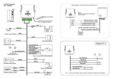 Diagram N° 2 - Gemini Alarm   Manualzz   Gemini Car Alarm Wiring Diagram      Manualzz