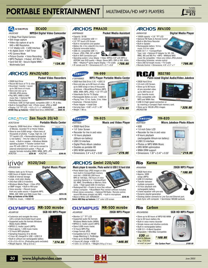 portable entertainment | manualzz com