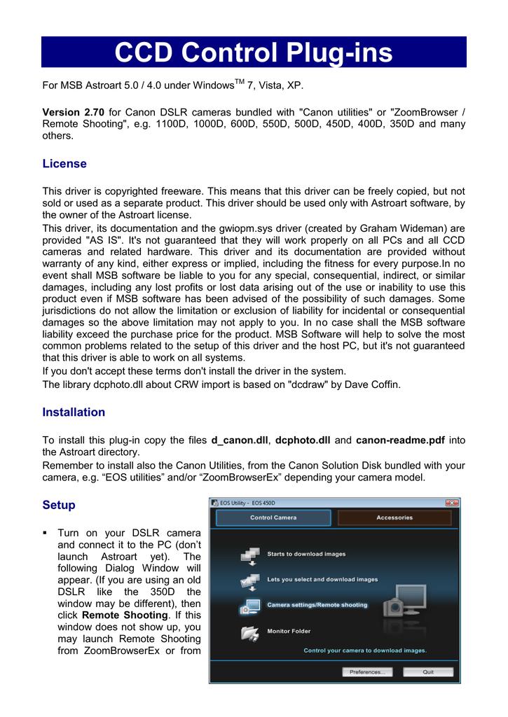 canon eos utility download windows xp