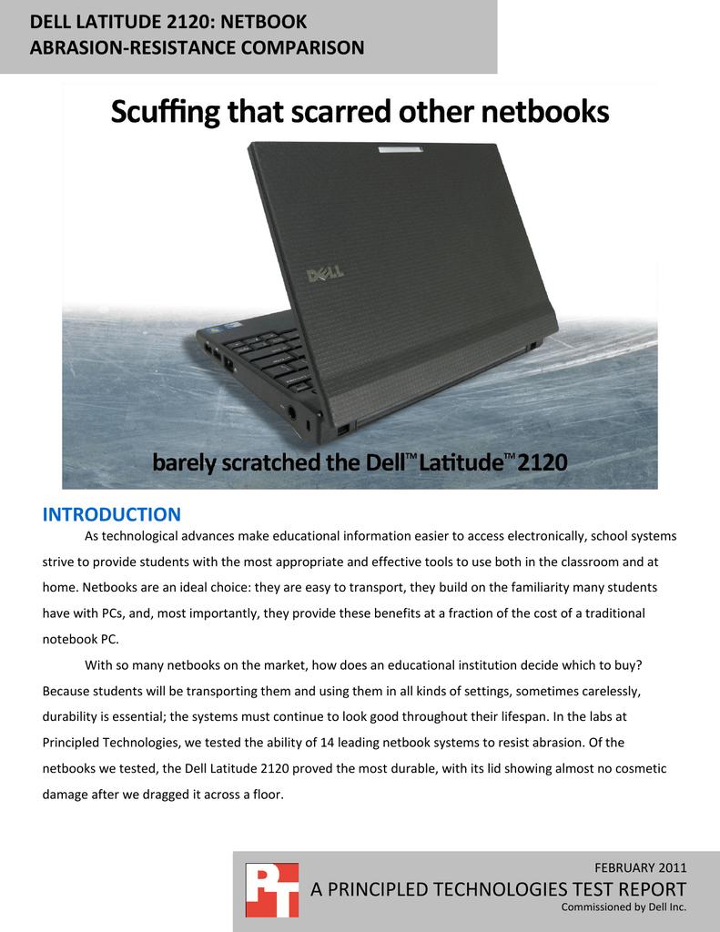Dell Latitude 2120: Netbook abrasion | manualzz com