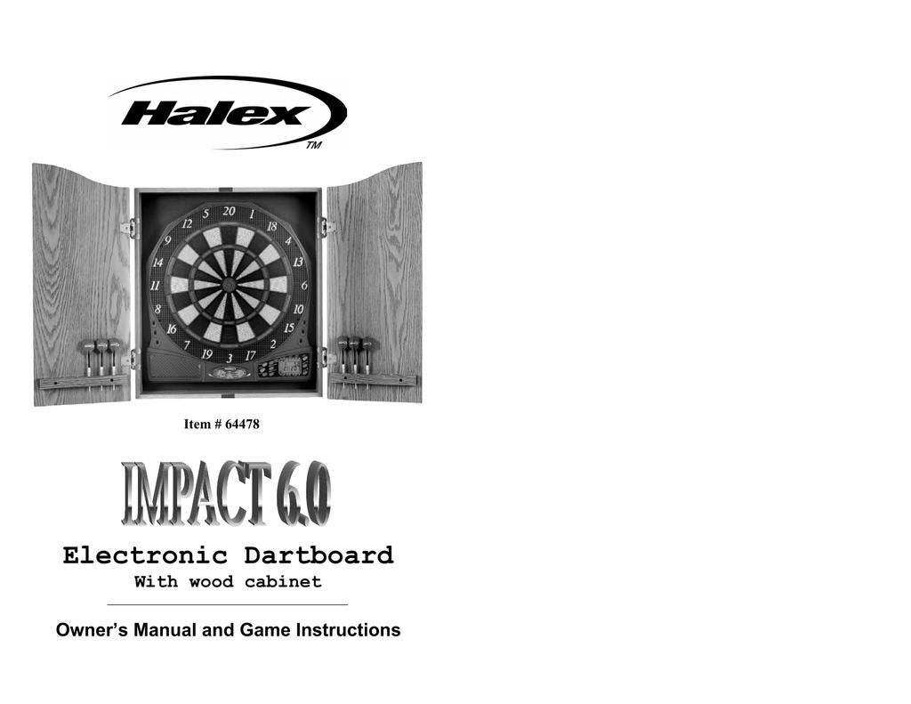Electronic Dartboard | manualzz.com on