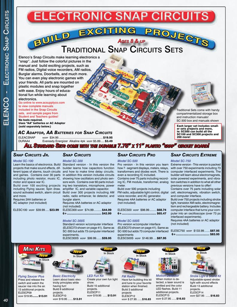 Snap Circuits Manualzz
