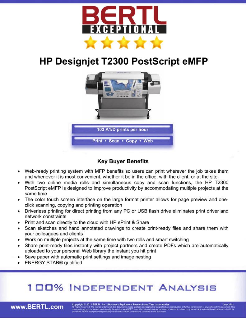 hp designjet t2300 hpgl2 driver download