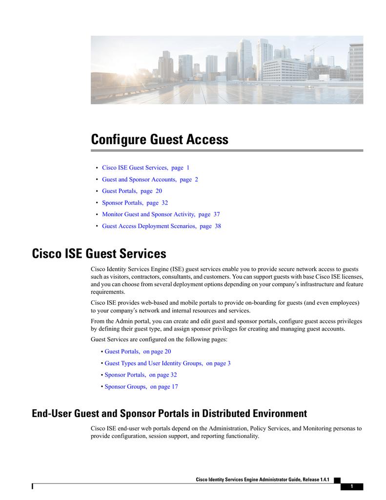 Configure Guest Access | manualzz com