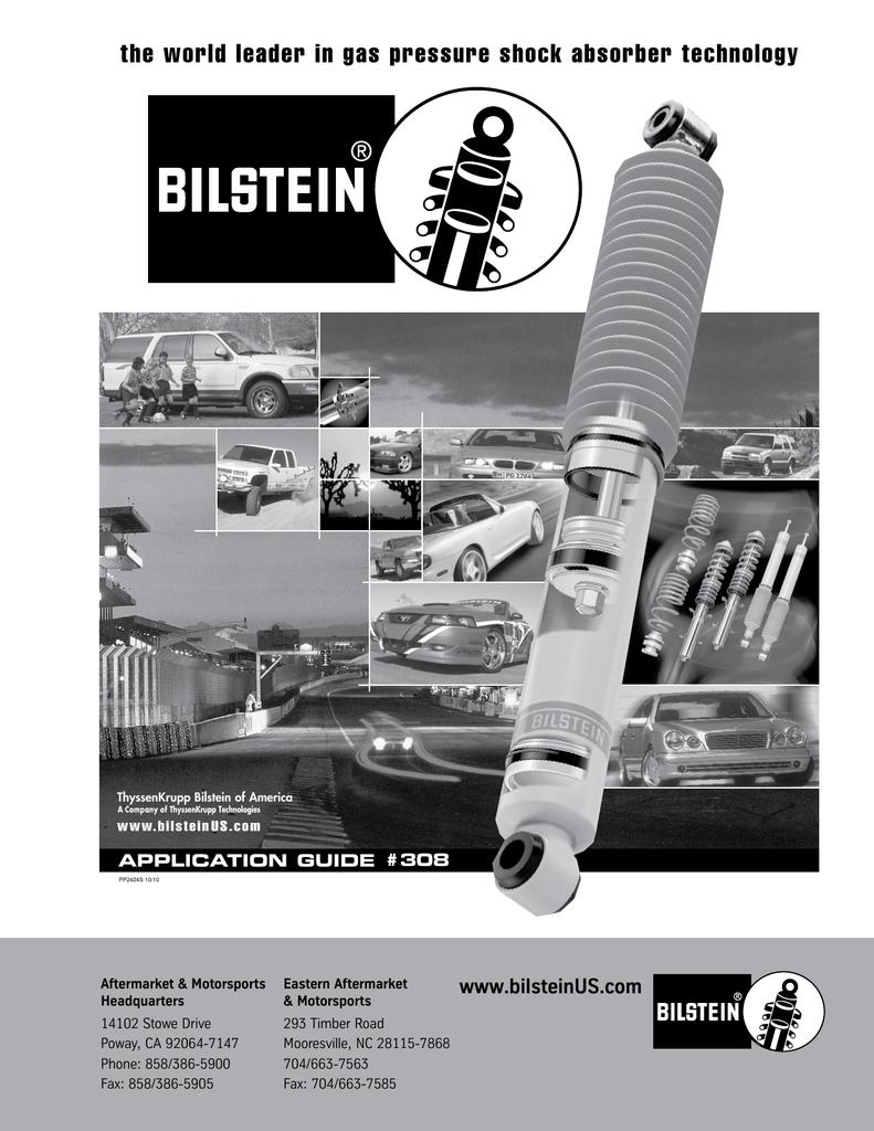 Bilstein 24-024228 Front Shock for GM Tahoe 2WD