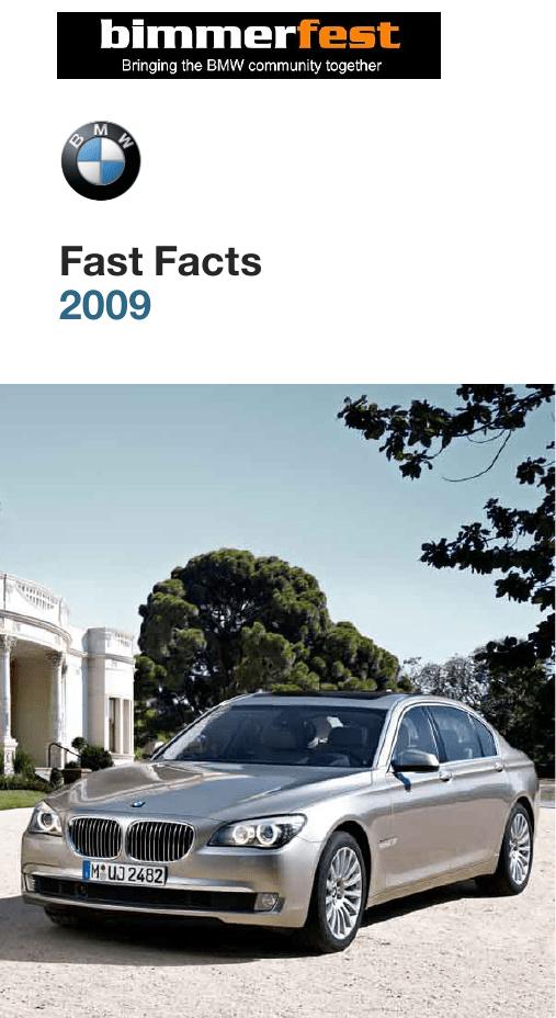 BMW Fast Facts | manualzz com