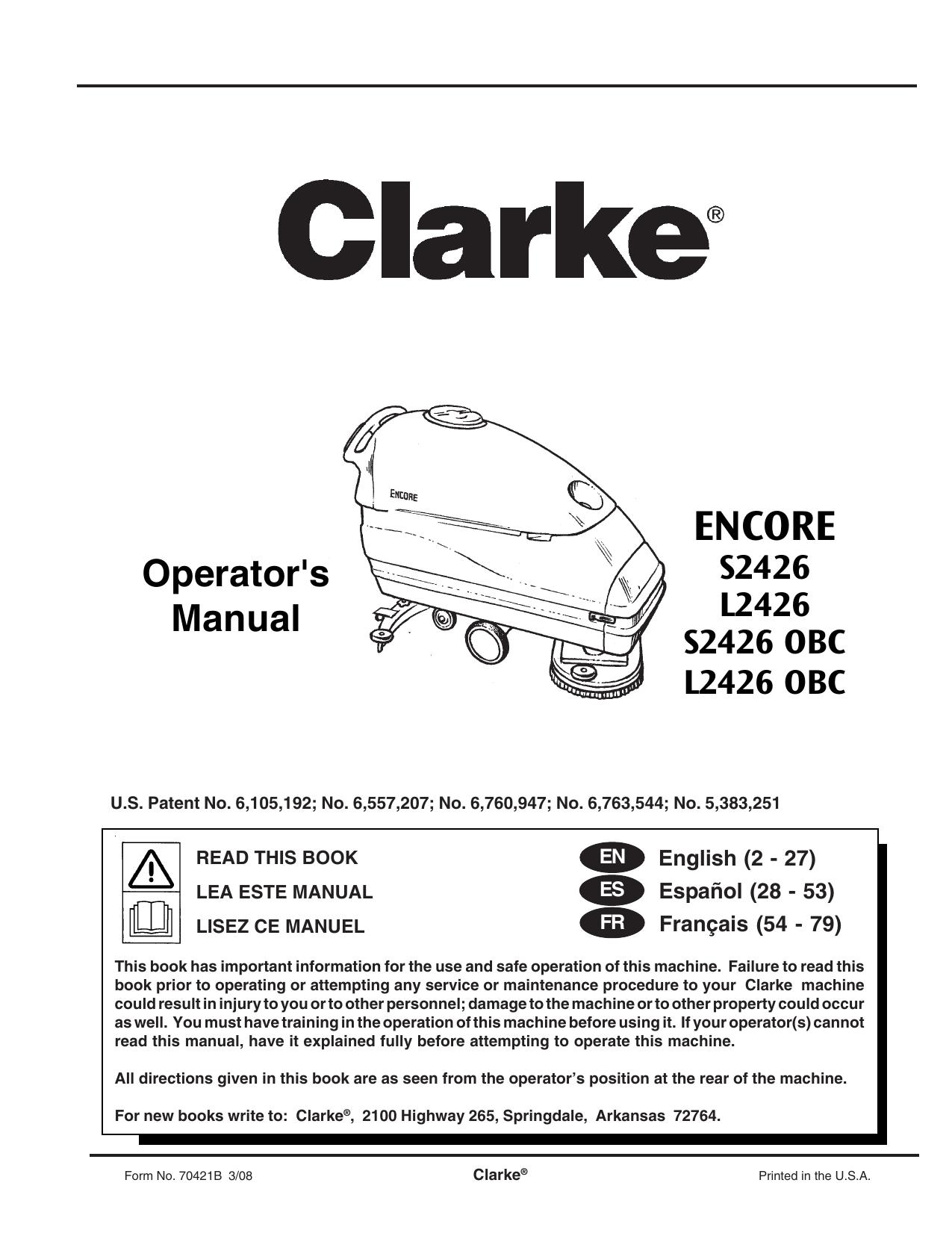 Clarke 13 Inch Pad Holder 17531A