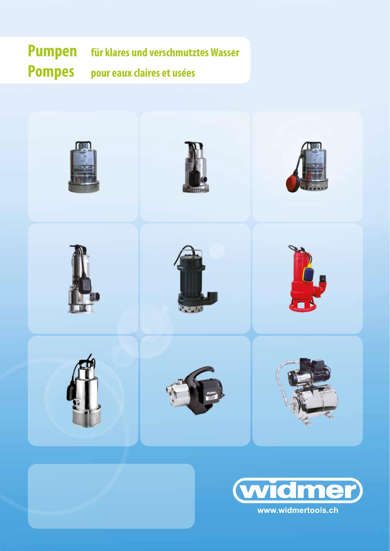 Pumpen Für Klares Und Verschmutztes Wasser Pompes Manualzzcom