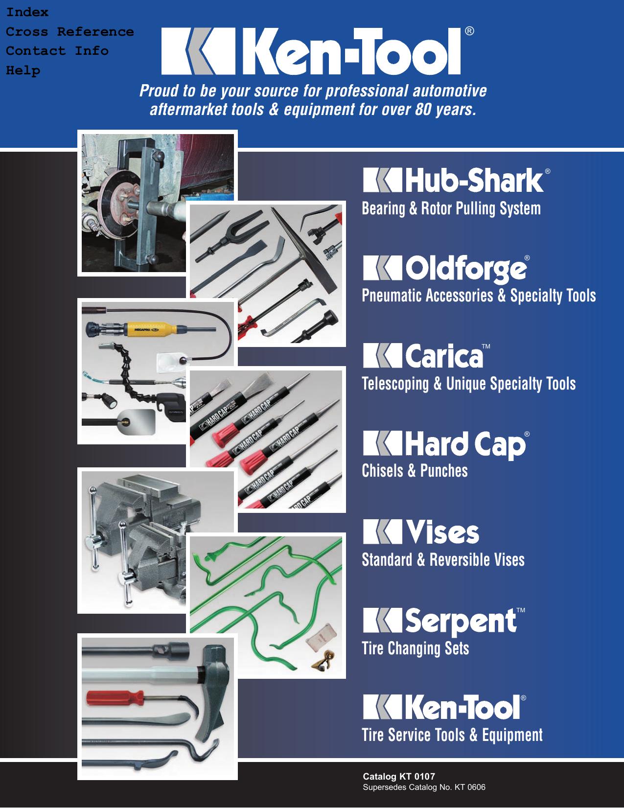 5-Pc Ken-Tool Super Serpent Tire Changing Tools Model Number 35446 Set