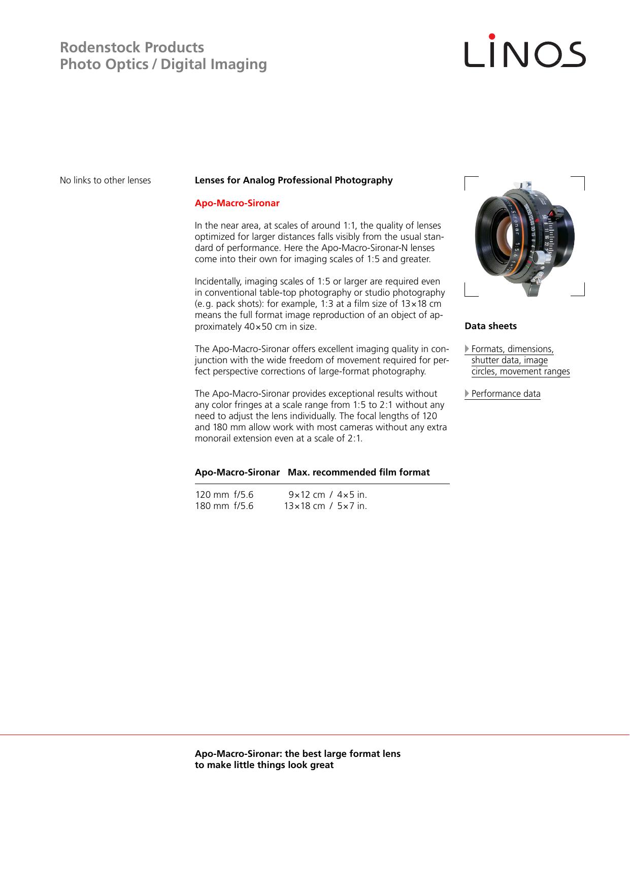 LINOS/Rodenstock PDF 9-11 English | manualzz com