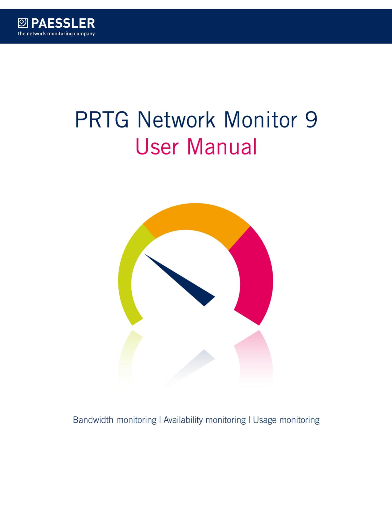 PRTG Network Monitor 9 User Manual | manualzz com