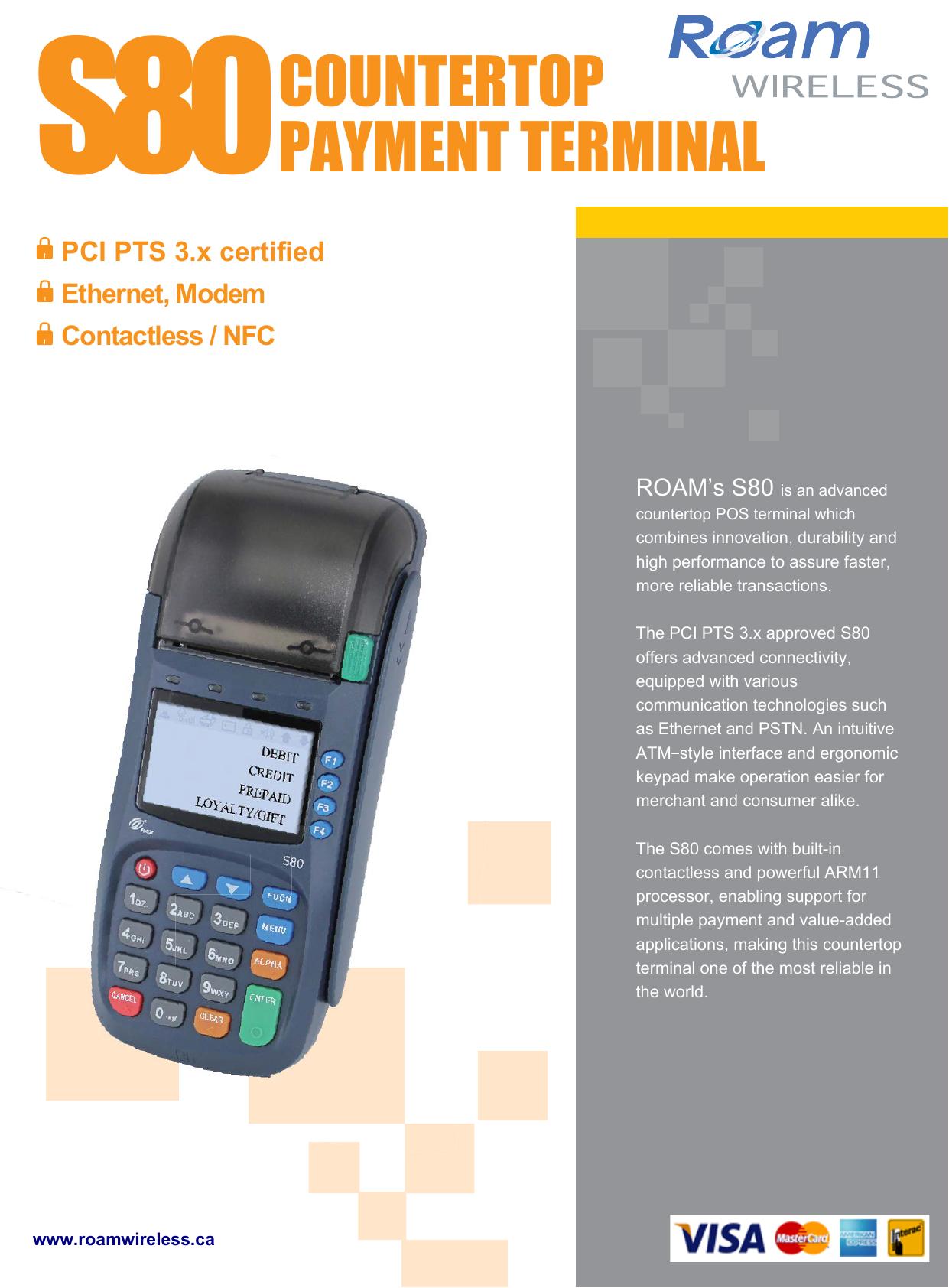 s80countertop payment terminal | manualzz com