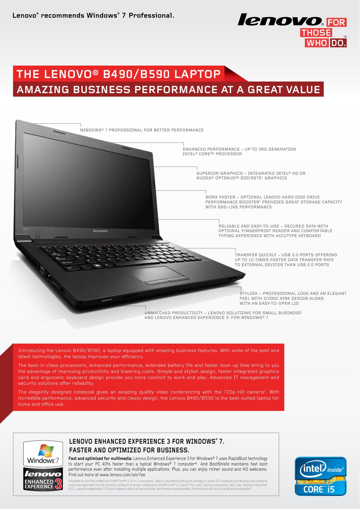Lenovo B490-B590 Datasheet | manualzz com
