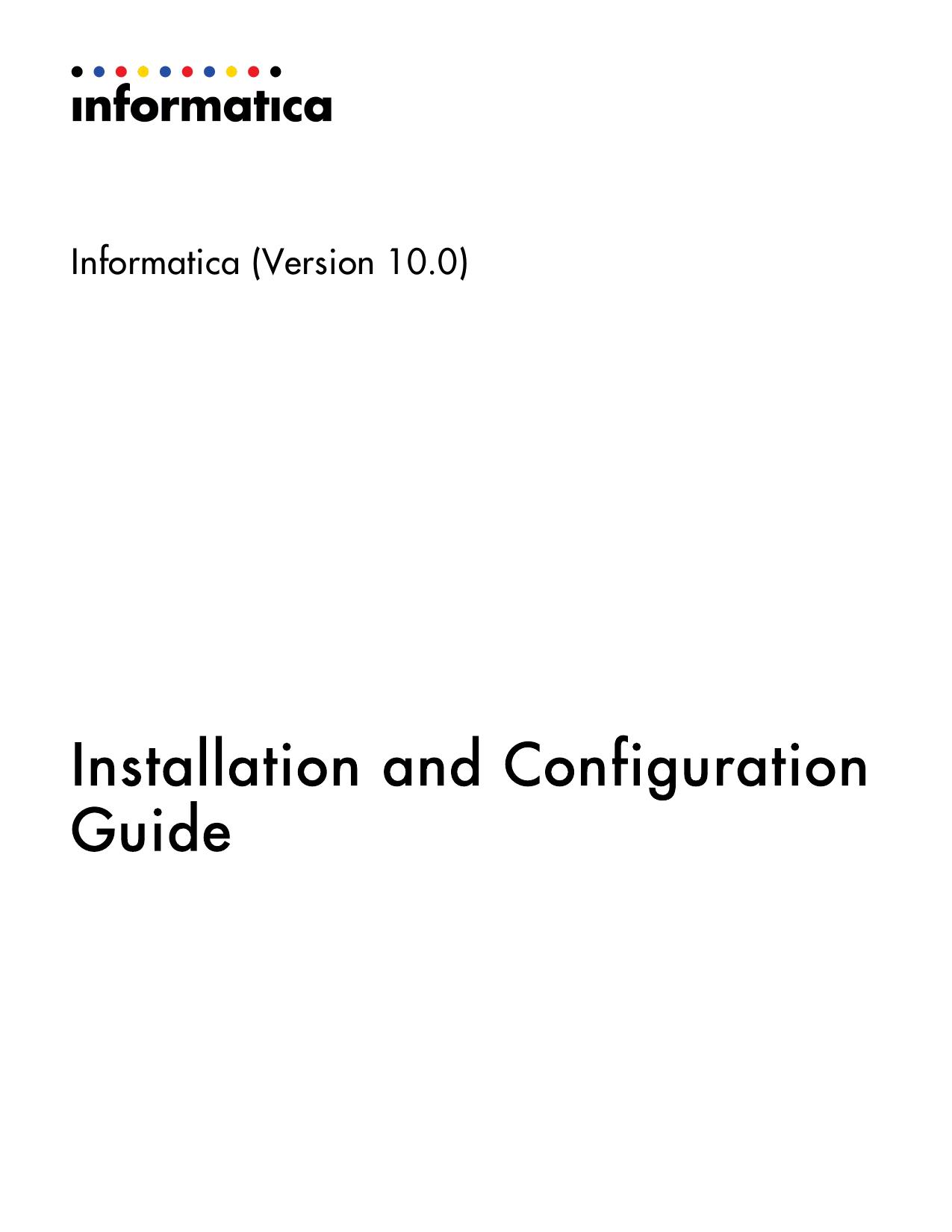 Installation and Configuration Guide | manualzz com